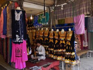 Qissa Khawani Bazaar in Peshawar, Khyber Pakhtunkhwa, Pakistan - March 2014