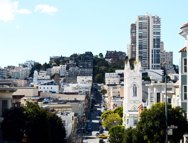 Hilly San Francisco