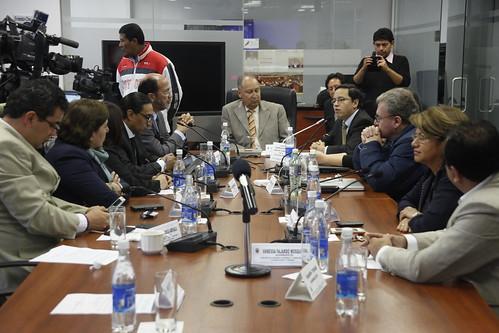 Comisión de Régimen Económico recibe al Ministro Coordinador de la Política Económica, Patricio Rivera
