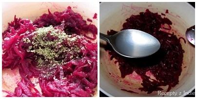 Cviklovy salat (raita)