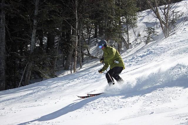 Wildcat spring skiing