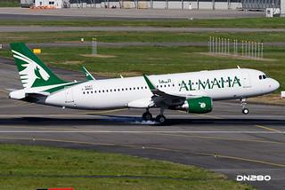 Al Maha A320-214 msn 6347
