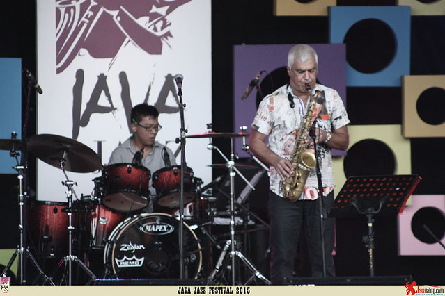 Java Jazz Festival 2015 Day 3 - Philippe Sellam Frank Herrgott Quartet