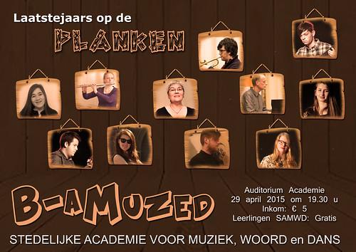 Affiche B-aMuzed 2015