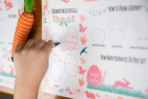 Easter Activity Placemats