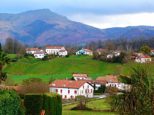 Paisaje del País Vasco francés (Iparralde)