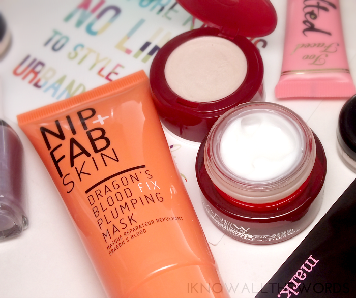 nip fab dragons blood fix plumping mask avon anew reveralist dual eye system