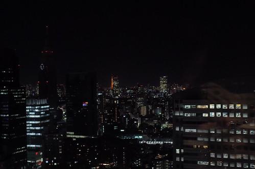 Tokyo night sky