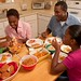 Family eating in their kitchen by USDAgov