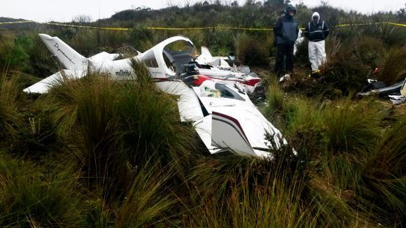 Ecuador investiga accidente aéreo de piloto suizo a bordo de aeronave deportiva