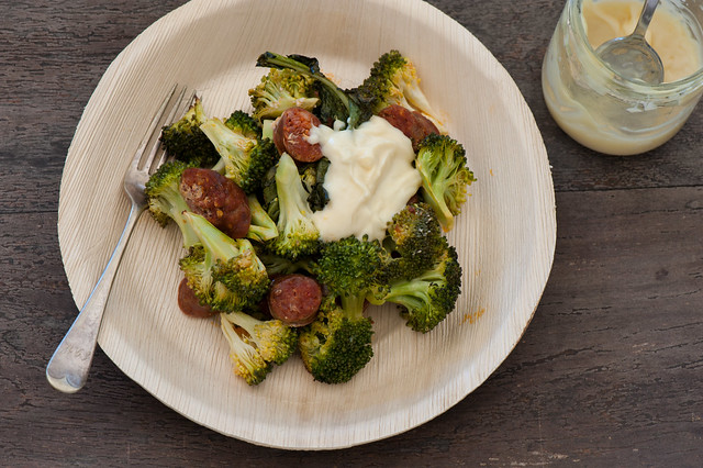 Roast Broccoli & Chorizo