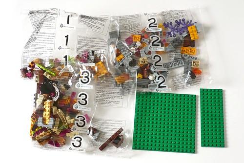 LEGO Elves 41074 Azari and the Magical Bakery box03
