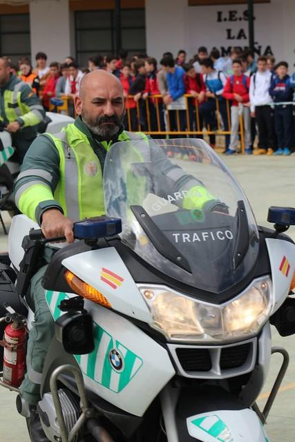 AionSur 16919891062_64a97385b0_z_d 7 destacamentos de la Guardia Civil que trabajan en la comarca por la seguridad de la población Educación Guardia Civil en colegios