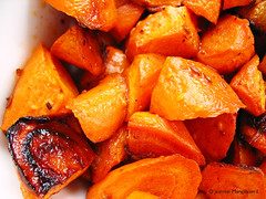 150405 Easter Maple Harissa Carrots