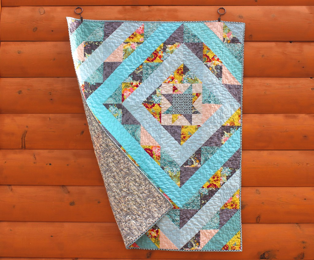 Paris in the Spring Baby Quilt