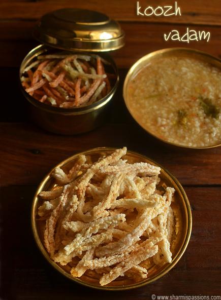 Koozh Vathal Recipe