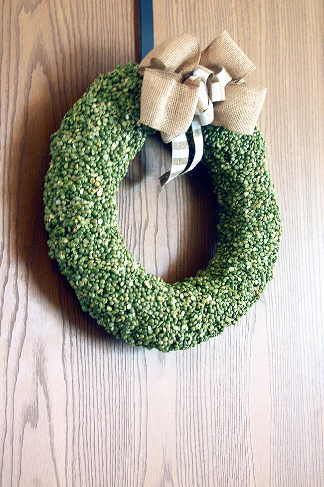 Split-Pea-Wreath