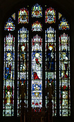 east window by Kempe