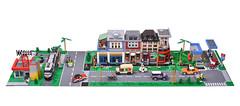 All custom PS Latlug LEGO town street