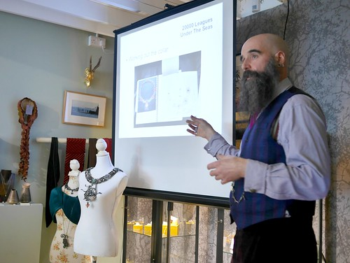 20000 Leagues Under The Seas - Talk at Cursley & Bond Gallery - 3