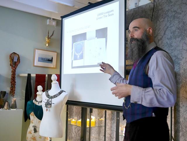 20000 Leagues Under The Seas - Talk at Cursley & Bond Gallery - 3