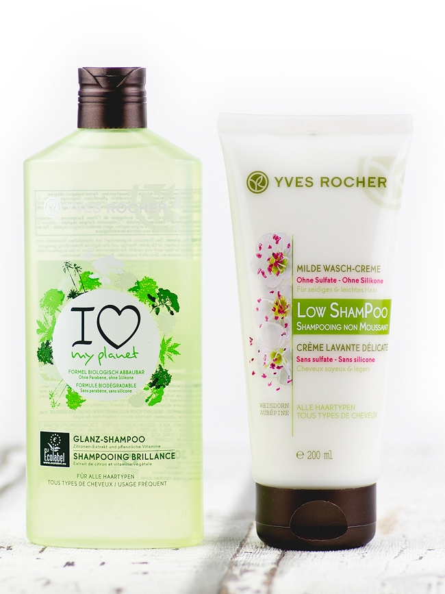 Yves Rocher Glamour Shopping Week, Yves Rocher Bestellung, Low ShamPoo, Yves Rocher Shampoo