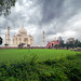 Taj Mahal: A new perspective (picture #2),  on a cloudy morning by Sharad Medhavi