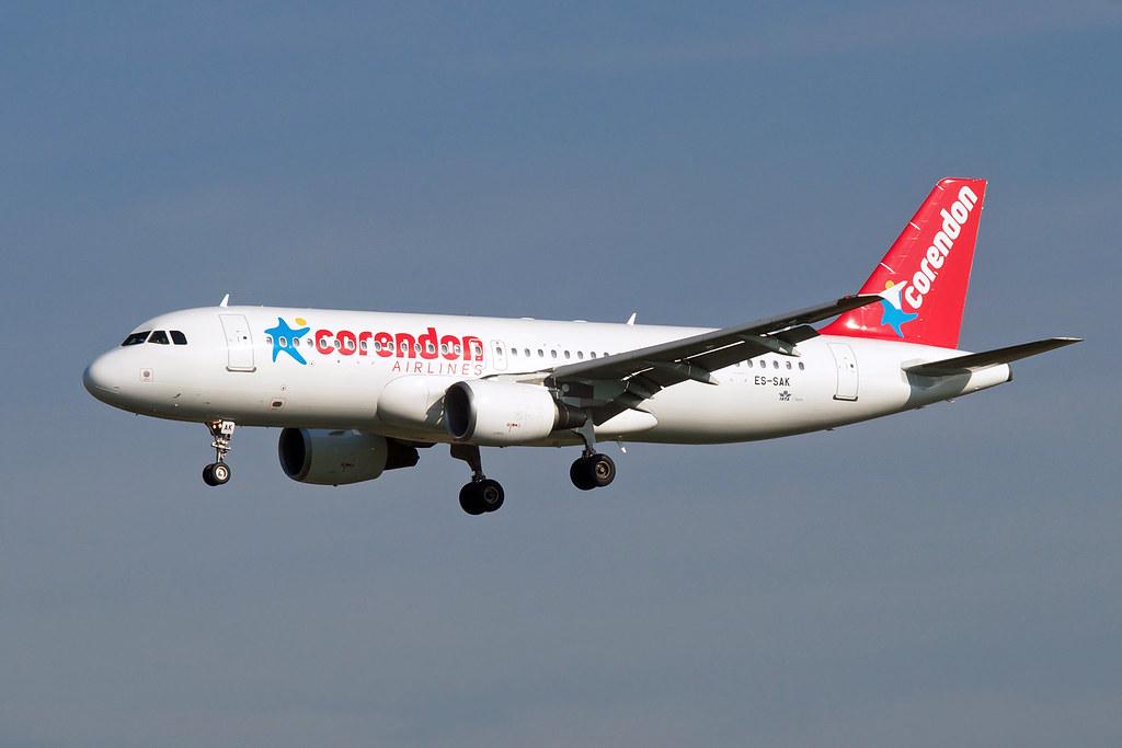 ES-SAK - A320 - TUI fly Belgium