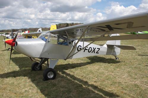 G-FOXZ Denney Kitfox 1 Popham