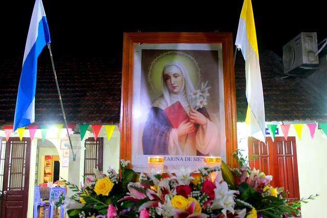 Gx. Lại Yên lễ thánh Catarina 4