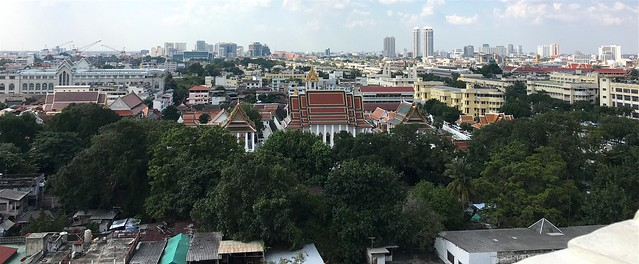 Picture 2_View from Golden Mount Temple in Bangkok