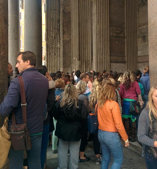 Tungosta Pantheonilla