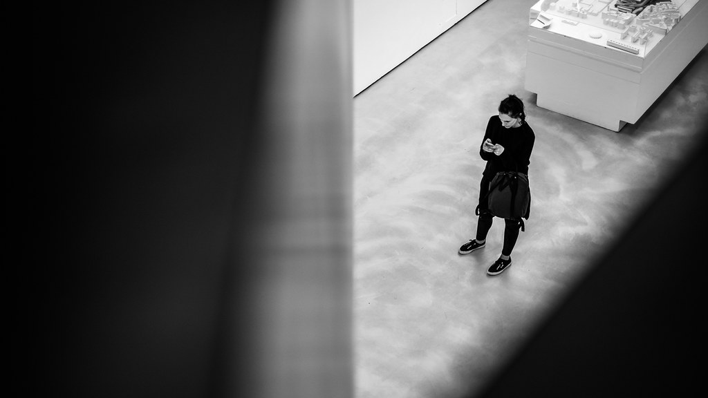 Maxxi, black and white street photography, Rome, Italy picture
