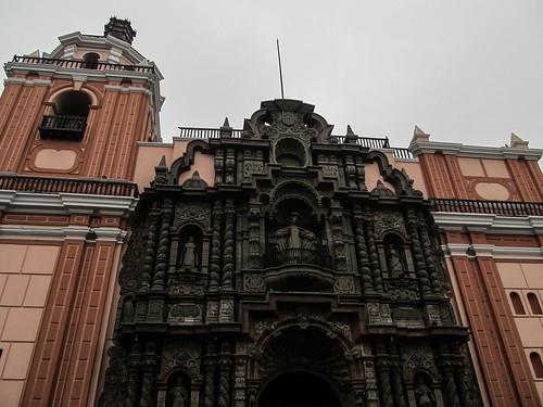 Lima: la Iglesia de la Merced dans le centre historique