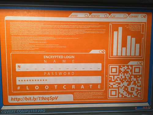 March 2015 Loot Crate Compuer Screen