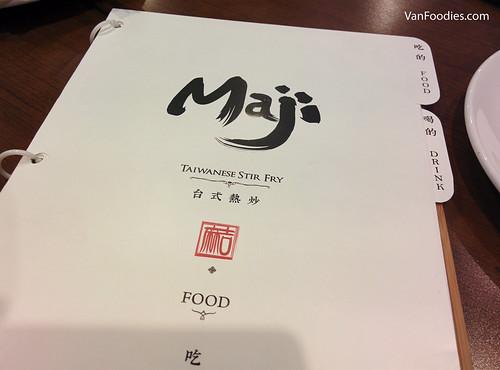 Maji Restaurant Taiwanese Stir Fry