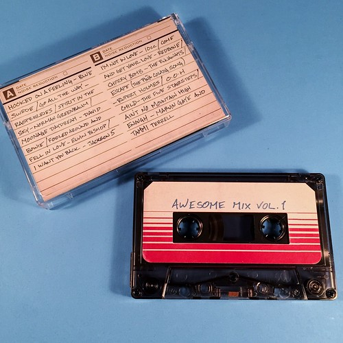 Guardians of the Galaxy Soundtrack Cassette