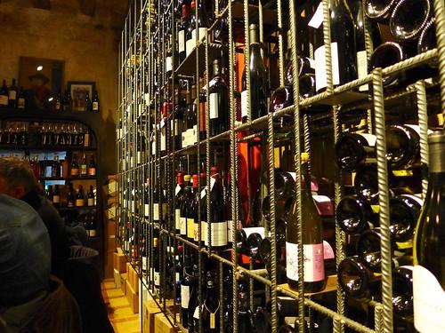 Bar Brutal Wine selection