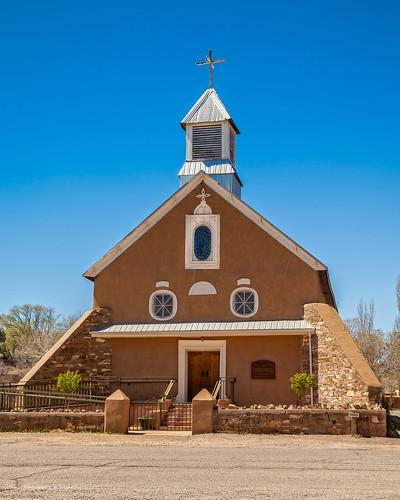 Iglesia Nuestra Señora de los Remedios, Galisteo, NM.