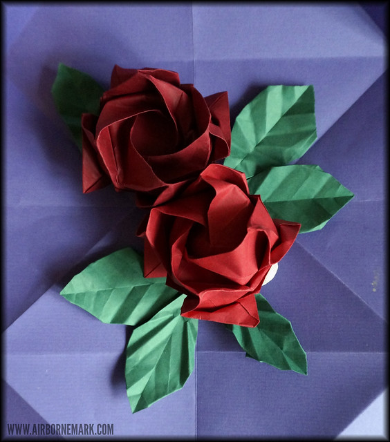 Origami Roses Reference
