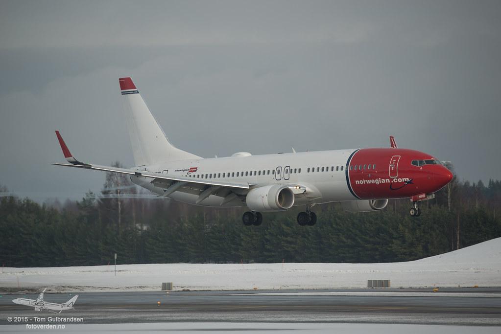 LN-NHB - B738 - Norwegian