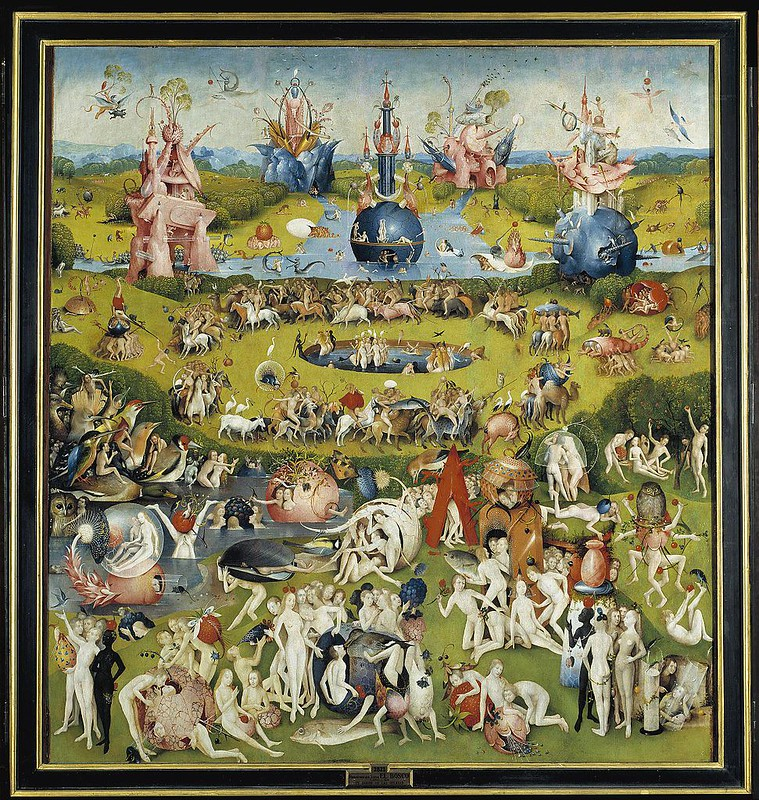 The Garden of Earthly Delights by Hieronymus Bosch (Central Panel)