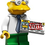 LEGO The Simpsons Moleman