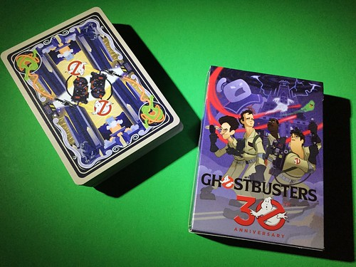 Ghostbusters Cards Back & Box