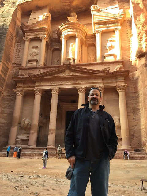 Joe Yudin in Petra