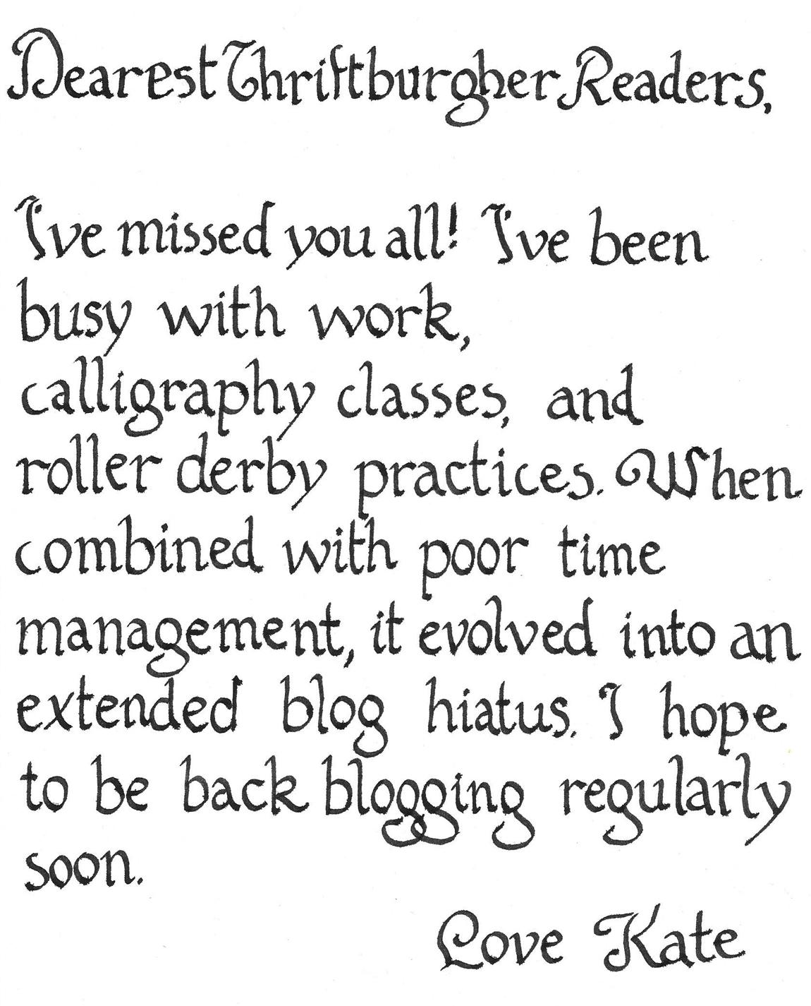 calligraphynote