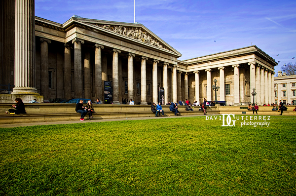 Sweet Spring at the British Museum, London, UK by David Gutierrez Photography.