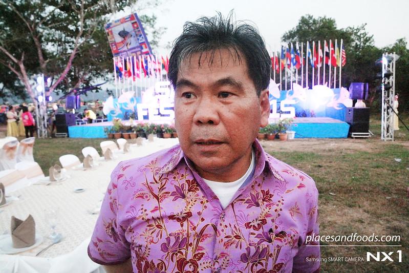 Satun Governor Dejrat Simsiri