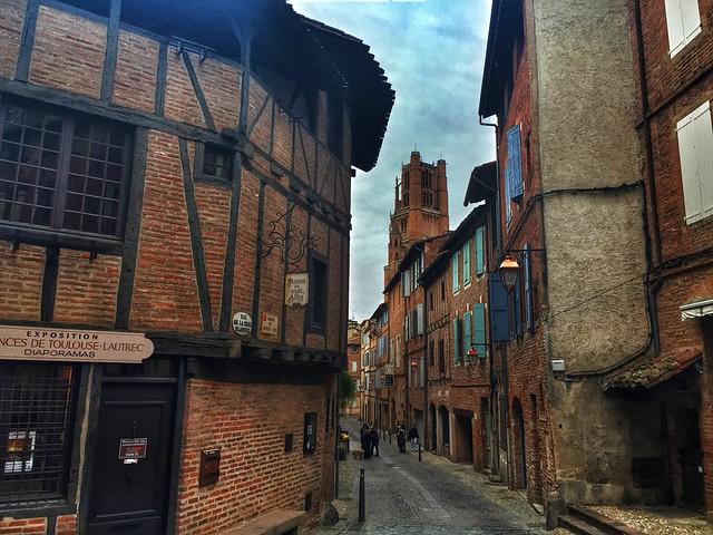Calle de Albi (Tarn, Francia)
