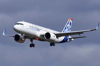 Second Airbus A320neo - D-AVVA